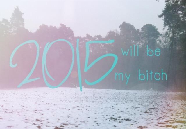 Gute Vorsätze, Gewichte und Großes! Jahresausblick 2015!
