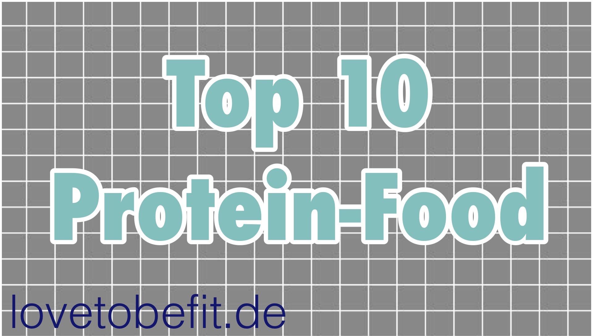 Top 10 Eiweiß-Lebensmittel!