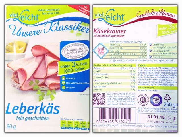 """Produktempfehlung – Low Fat Proteinquellen von """"VielLeicht"""""""