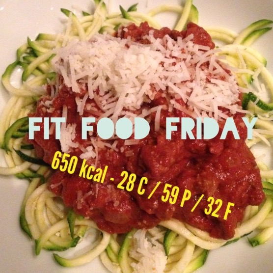 "Fit Food Friday: LowCarb Pasta 2.0 ""Zoodles"""