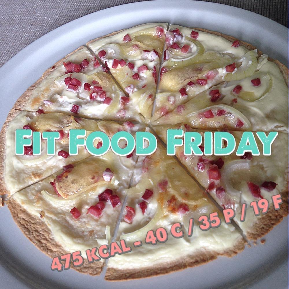 Fit Food Friday: Flammkuchen & Pizza ganz schnell!