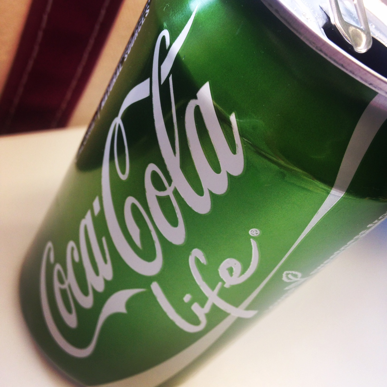 www.lovetobefit.de-tested: Coca Cola life!