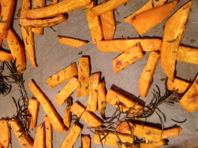 Ergebnis Sweet Potato Fries