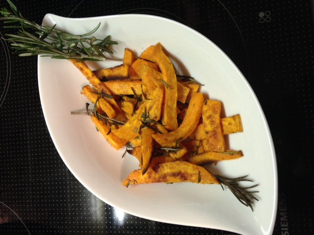 #pumpkinweek: Kürbis-Pommes