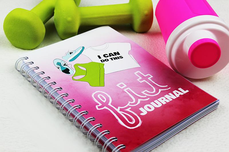 Fit Journal – deinen Fortschritt immer im Blick!