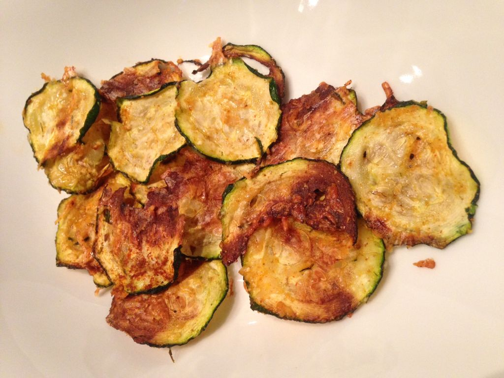 Fit Food Friday: Low Carb Chips 3.0 – Zucchini Chips