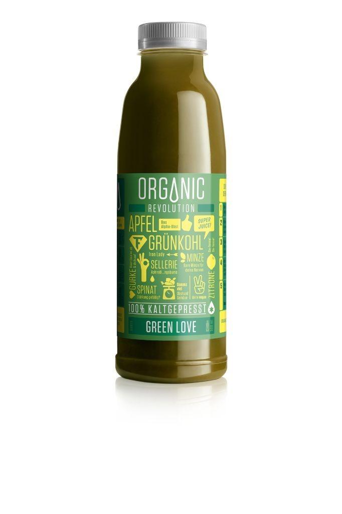 Organic Revolution_Green Love_front