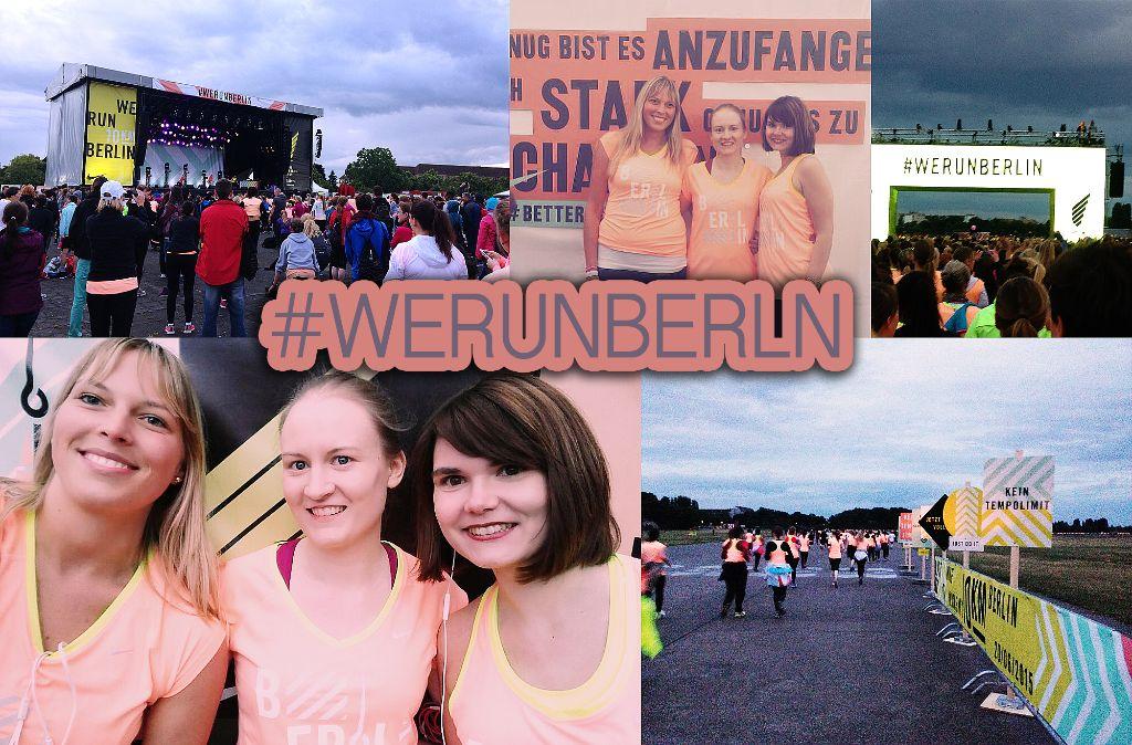 Gastbeitrag Bluetenschimmern: Das war der #werunberlin 10k Lauf von Nike