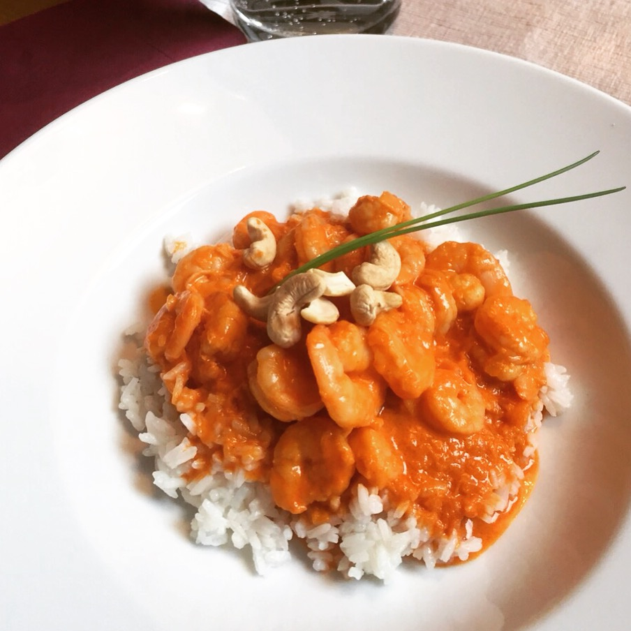 Fit Food Friday: Garnelencurry mit veganer Alternative