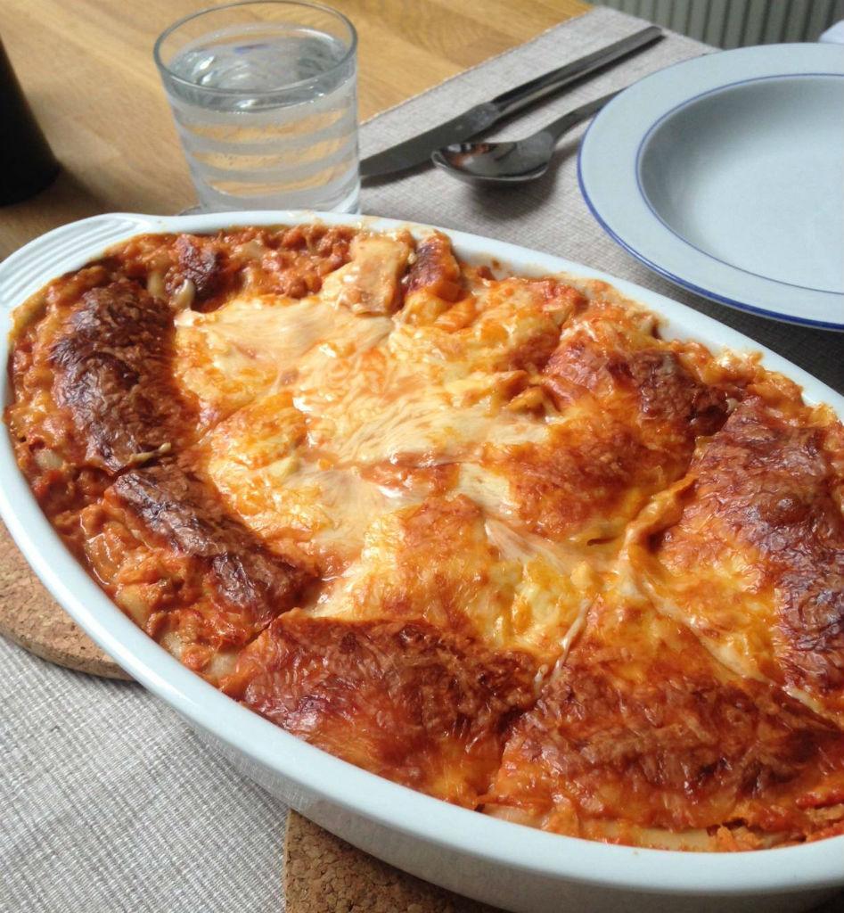 Fit Food Friday: Thunfisch Lasagne mit 45 Gramm Protein pP