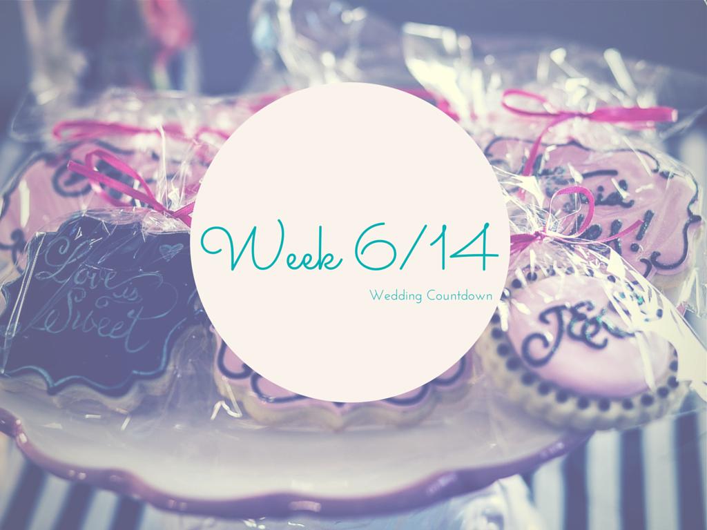 Wedding Countdown – SumUp Woche 6 von 14