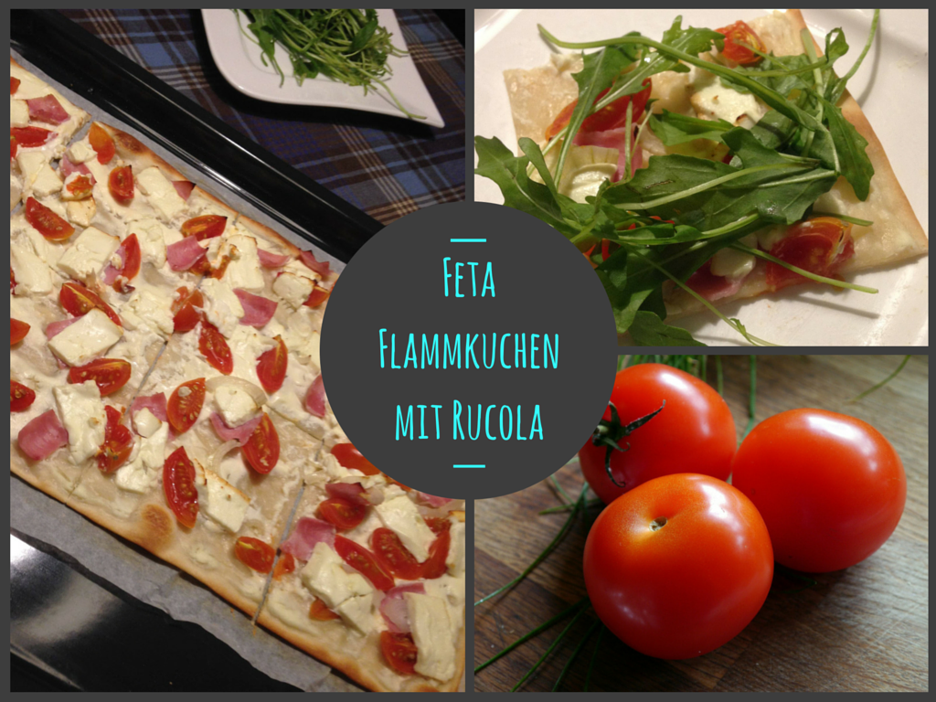 Fit Food Friday: Feta-Flammkuchen mit Rucola