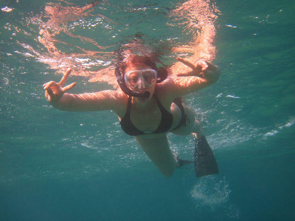 Schnorcheln-Hawaii-Flitterwochen