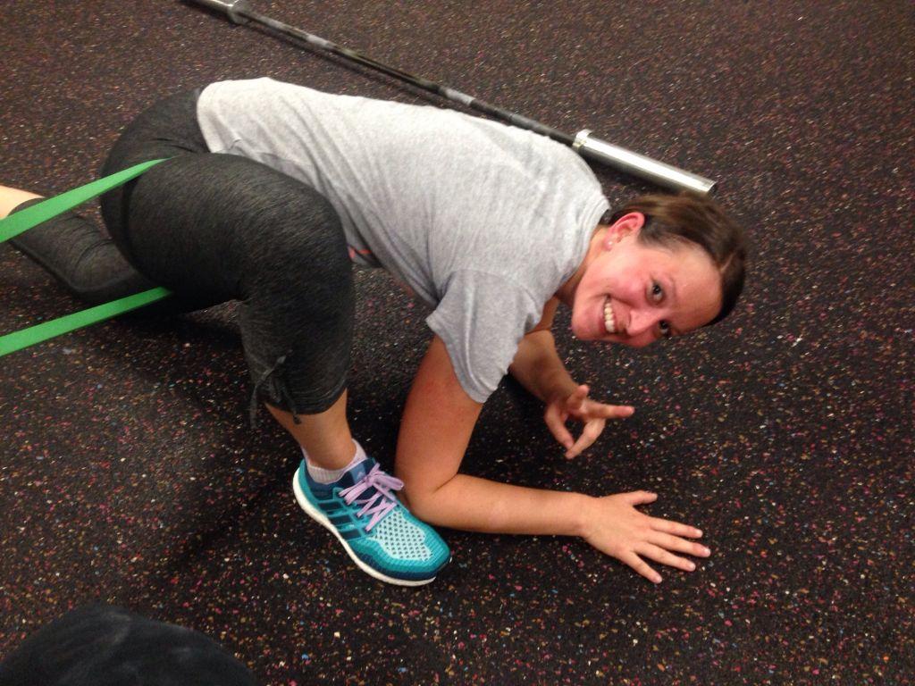 """Der Moment als CrossFit """"mehr"""" wurde als nur körperliches Training"""