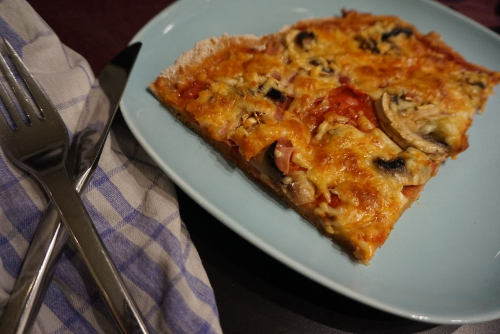 Fit Food Friday: Dinkelvollkorn-Quark-Pizza