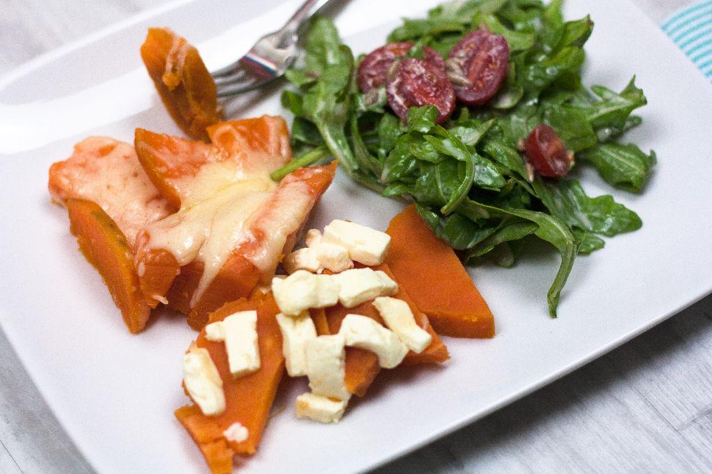 Süßkartoffel-Käse