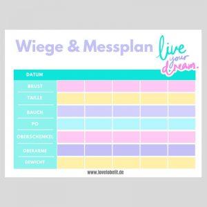 Messplan