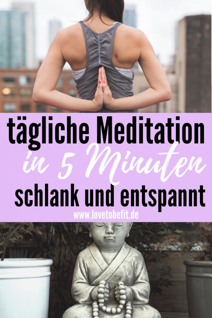 Abnehmen geführte Meditation